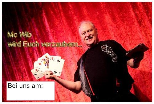 Nrw Zauberer Mc Wib Plakat